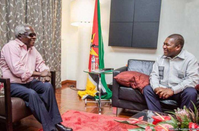 President Filipe Nyusi and Afonso Dhlakama