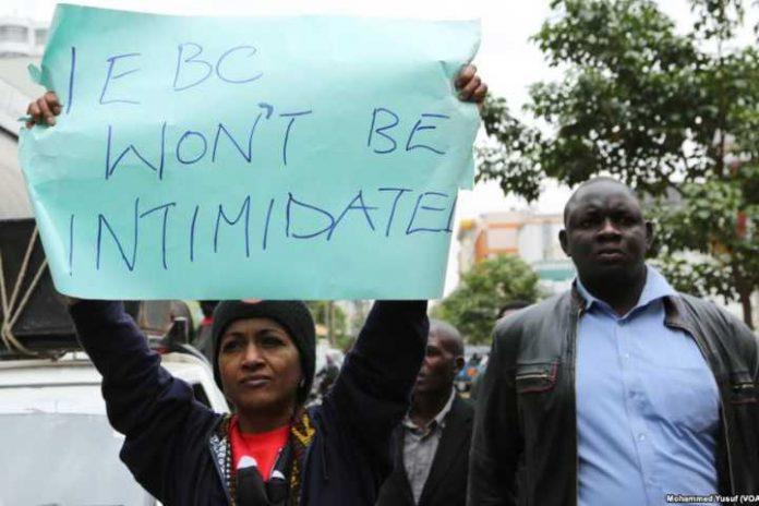 Group protest Msando killing