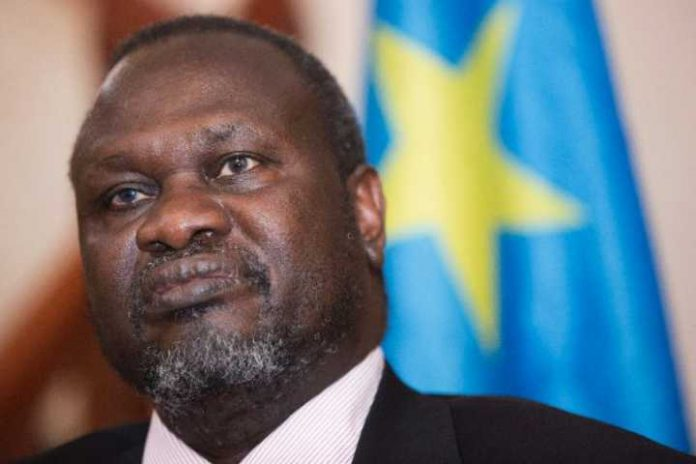 Riek Machar ex-South Sudan V.P