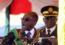 Zimbabwe's President Mugabe