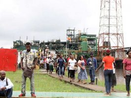 Protesters storm Shell facility demanding jobs