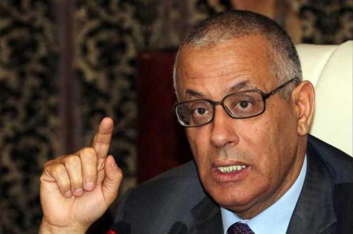 Former Prime Minister Ali Zidan