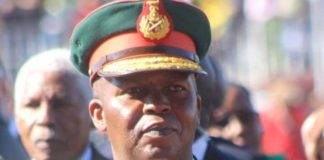 Army Chief Lt. General Khoantle Motsomotso was shot by some soldiers