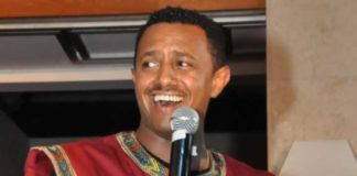 Ethiopian singer Tewodros Kassahun, popularly known as Teddy Afro
