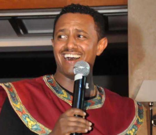 Ethiopian singer Tewodros Kassahun, popularly known as Teddy Afro