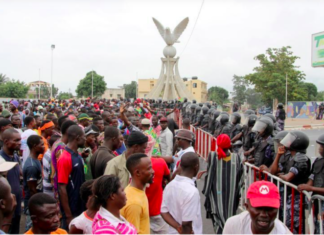 Hundreds of Thousands of Togolese were on the street 7th and 8th of September, 2017, to demand a change in government