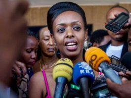 Diane Shima Rwigara, 35-year-old accountant is the daughter of late fancier of Rwanda ruling party who was killed in a mysterious car accident on the evening of 4 February 2015 in Gacuriro, Kigali