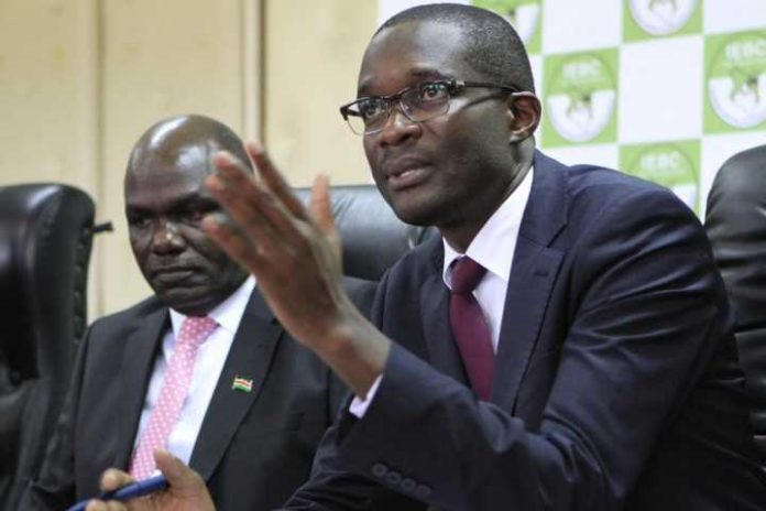 Ezra Chiloba Kenya IEBC boss