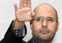 Late Libya leader Muammar Gaddafi son, Saif al-Islam