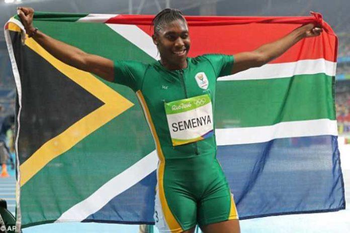 South African speed sensation, Caster Semenya