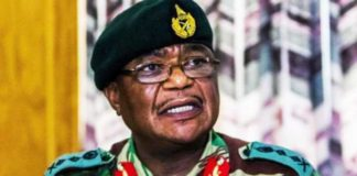 Head of Zimbabwean armed forces, Constantino Chiwenga