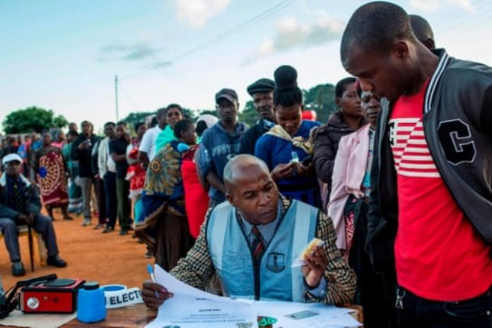 Election day in Malawi