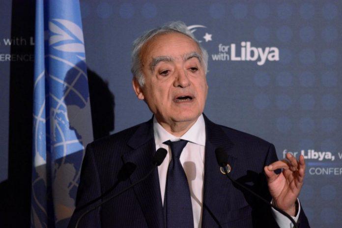 UN envoy in Libya, Ghassan Salame
