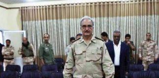 Libya general Khalifa Haftar in UAE