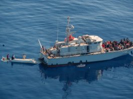 Libya coast guard recues migrants