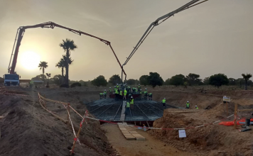 Wind farm project ongoing in Senegal