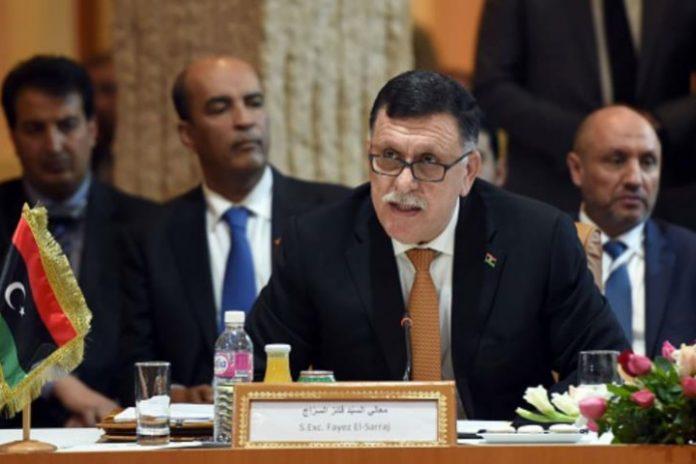 Internationally backed Libya PM Fayez al-SarrajLibya