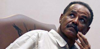 Eritera president Isaias Afwerki
