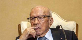 Tunisia president Beji Caid Essebsi