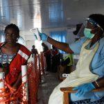 Ebola screening at Uganda-DR Congo border