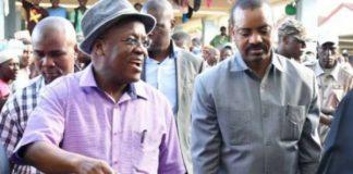 John Magufuli went to fish market carring a reed basket