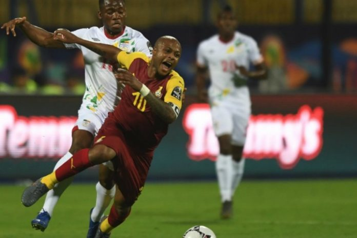 Ayew brothers double help Ghana to a draw against Benin
