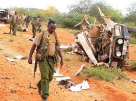 Ten Kenyan police officer killed in a bomb blast near Somali border