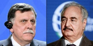 Libya PM Serraj blast Haftar say no meeting with him to end war