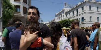 Suicide bombers attack Tunisia killing a police officer