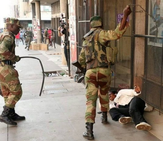 Zimbabwe armed forces must account for violence