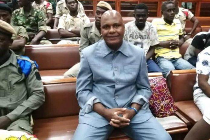 Gabonese former member of parliament Bertrand Zibi Abeghe