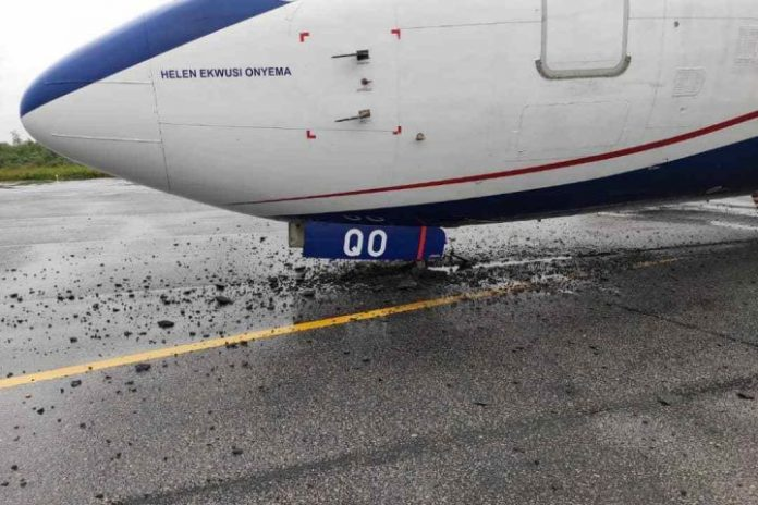 Nigeria airport authority update on Airpeace Emergency Landing