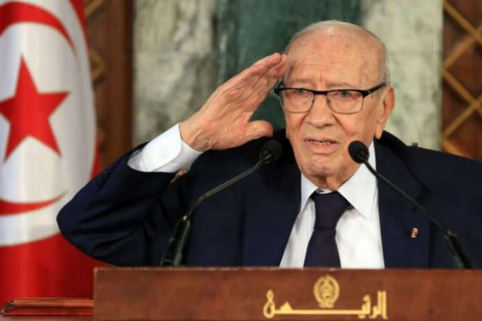Tunisia's President Beji Caid Essebsi dies at 92