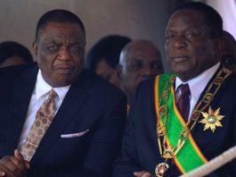 President Emmerson Mnangagwa and his deputy Constantino Chiwenga