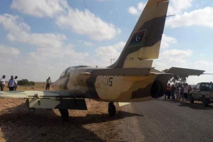 Eastern Libyan warplane makes emergency landing in Tunisia