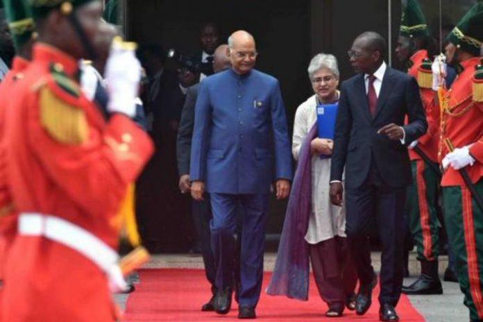 India president announce $100m loan for Benin