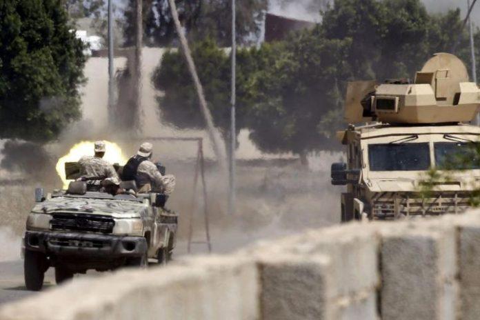 Haftar forces lose 7 fighters in drone strike near Tripoli