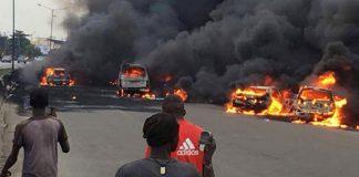 More than 40 die in oil tanker explosion in Benue, Nigeria