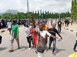 Shots fired, 2 injuries as Shia storm Nigeria parliament