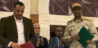 Sudan military and civilians sign agreement