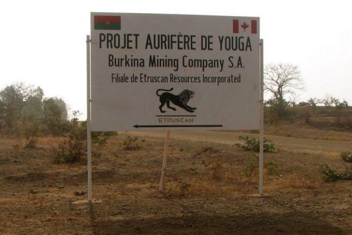 mine in Zabre, Boulgou province