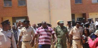Zambian opposition party leader Chishimba Kambwili