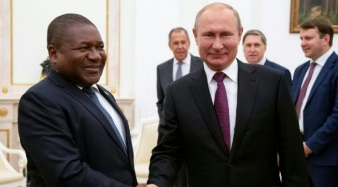 Mozambique signs energy, security deals with Russia