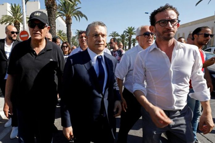 Police arrest Tunisia presidential candidate Karoui for tax crime