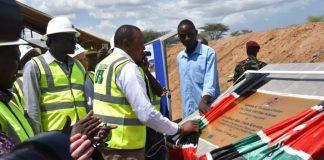 Kenyan president Uhuru flags off first crude oil export