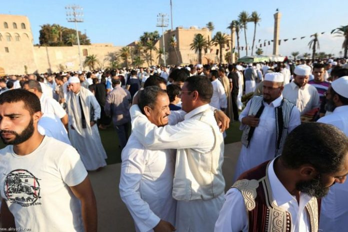Libya rivals agree a truce during Eid