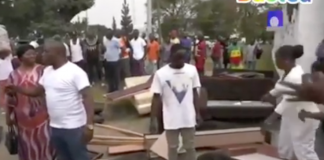 Nigeria embassy in Congo DR invaded, properties thrown out