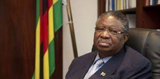 Phelekezela Mphoko former Zimbabwe vice President