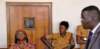 Ugandan activist gets 18 months jail term bares breasts in protest