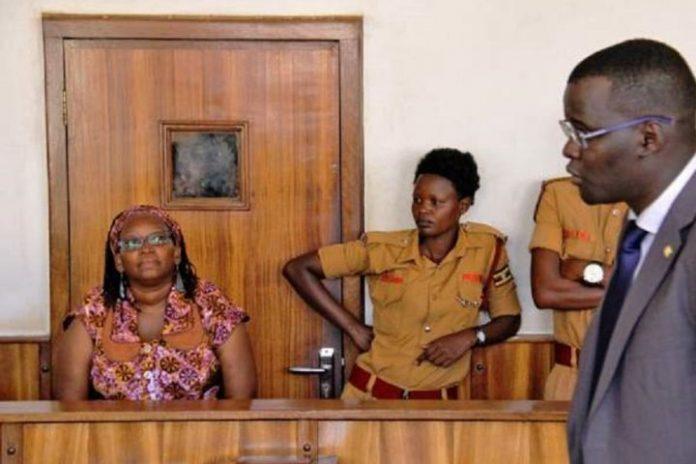 Ugandan activist gets 18 months jail term bares breasts in protest